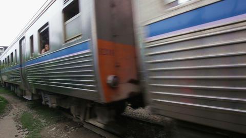 Train in Thailand Footage