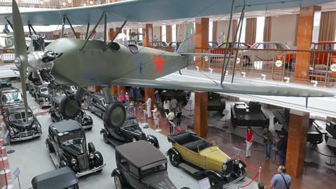 Panorama museum. Pyshma, Ekaterinburg, Russia Footage