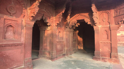 Fatehpur Sikri, India - historic buildings of the ancient city part 6 Live Action