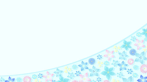 Blooming Animation D Light Color CG動画