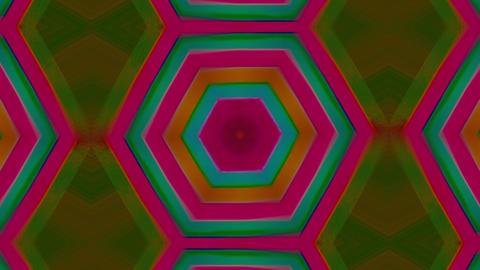 Multicolored ornamental futuristic trendy glittering background Live Action