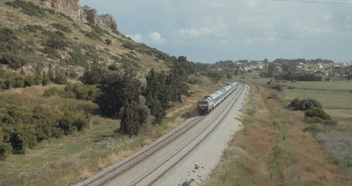 Train passing at high speed Footage