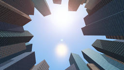 Buildings CG animation Footage