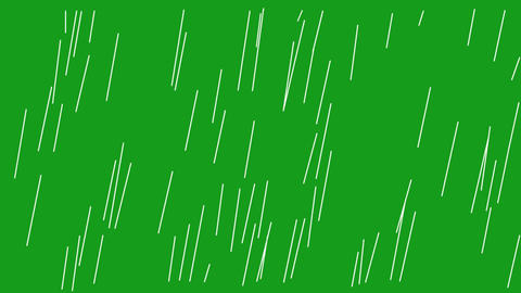 Rainfall motion graphics with green screen background Videos animados