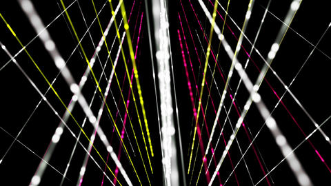 Futuristic technology light stripe video animation, loop HD Animation