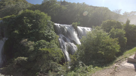 marmore waterfall the highest in europe is in umbria Live Action