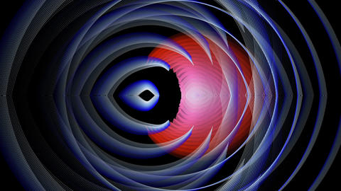 Set Of TEN Abstract Rotating Objects