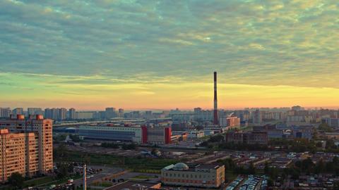 Aerial view of St. Petersburg 164 Acción en vivo