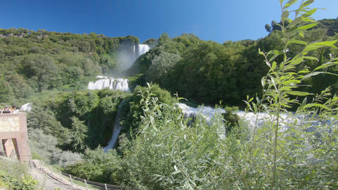 marmore waterfall the highest in europe is in umbria Acción en vivo