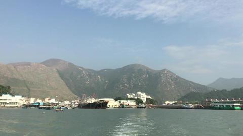 Hong Kong, China, A bridge over a body of water Acción en vivo