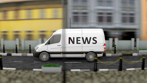 Media and news van Animation