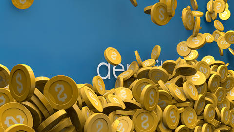 Rising deposit amount animation Animation
