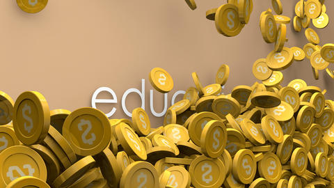 Rising cost of education Animation