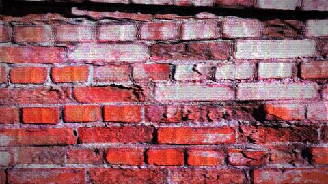 Grunge Brick Wall Videos animados