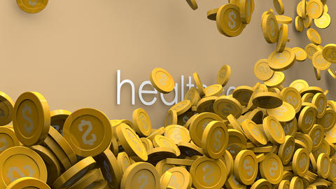 Healthcare rising cost animation Animation