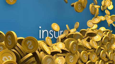 Rising insurance cost animation Animation
