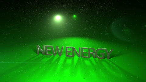 Futuristic technology light video animation with text NEW ENERGY, loop HD CG動画