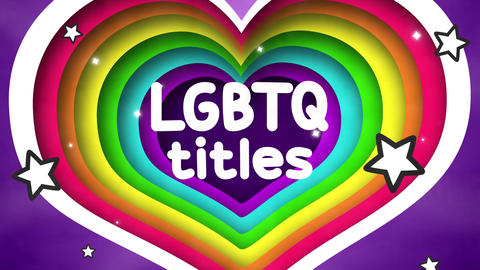 LGBTQ Titles And Scenes Plantilla de After Effects