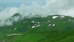 Mount Chokai, Yamagata Prefecture, Japan Footage