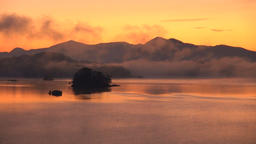 Lake Hibara, Fukushima Prefecture, Japan Footage