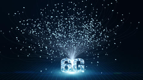 6G digital technology 00453 Videos animados