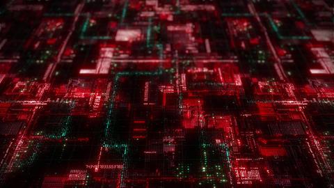 Digital circuit technology background 00493 Animation