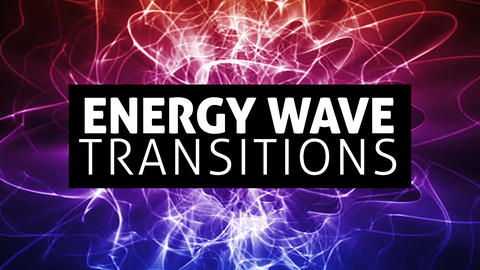 Energy Wave Transitions After Effects Animation Preset