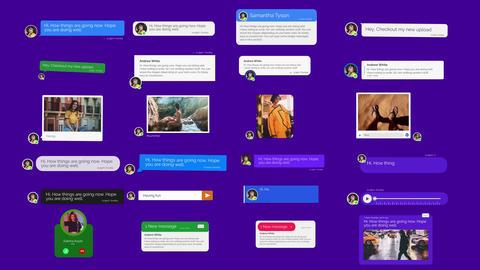Message toolkit V 2 Apple Motionテンプレート