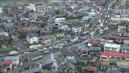 National highway in Fukushima, Japan Footage