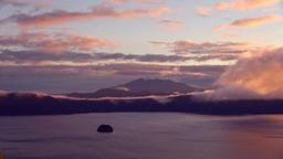Dawn at Lake Mashu, Hokkaido, Japan Footage