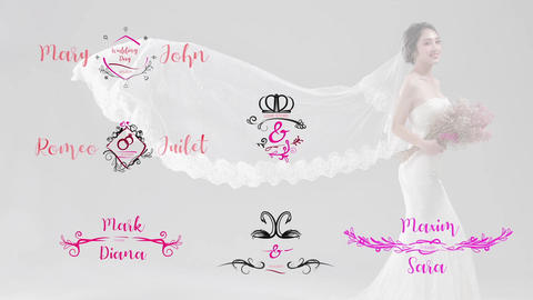 Wedding Titles Pack Premiere Pro Template