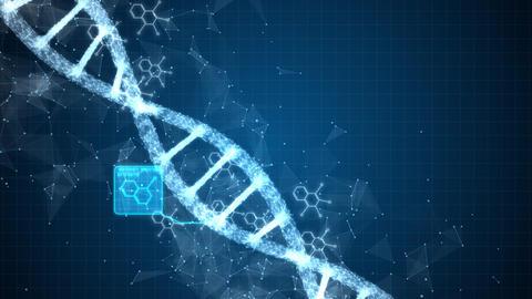 Digital DNA construction 00524 CG動画