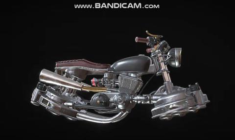 Japan motorcycle 3D Model