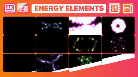 Energy Elements Premiere Pro Template