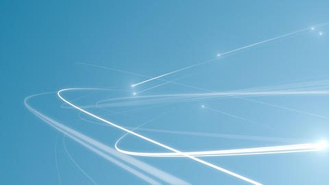 network community image light line abstract space Animation