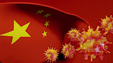 Virus originated from China Animation