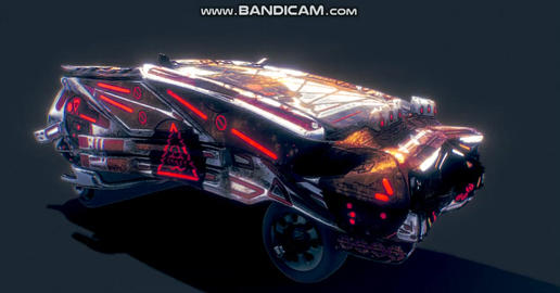 Blood guard desert cruiser Marauder car Modelo 3D