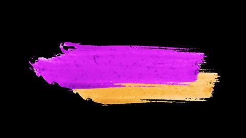 Brush Lower Third Animation