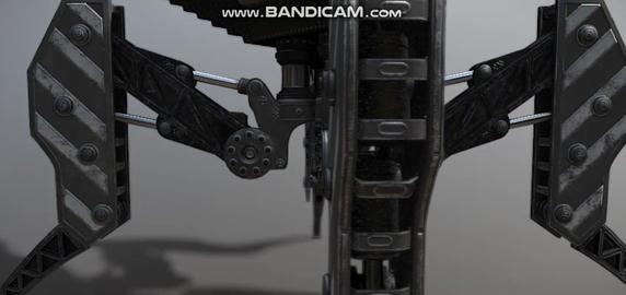 Cyber spider police interceptor Modelo 3D