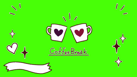 Cute decoration_Coffee Break Animation