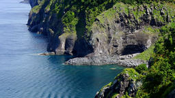 Sea Of Okhotsk, Hokkaido, Japan Footage