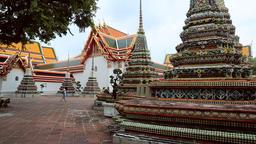 Wat Pho, Thailand Footage