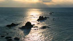 Cape Erimo, Hokkaido, Japan Footage