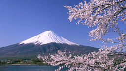 View of Mount Fuji, Japan 영상물
