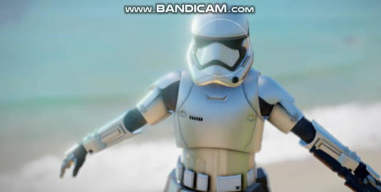 Star wars 7 storm trooper Modelo 3D