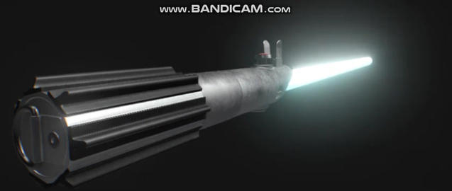 Anakin skywalkers lightsaber 3D Model