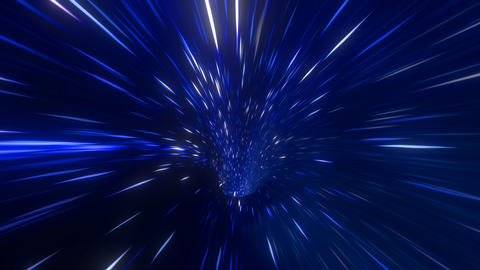 Wormhole straight through time and space, warp straight ahead th フォト