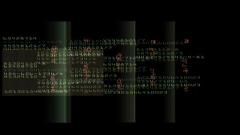 Binary Computer Code Background Animation