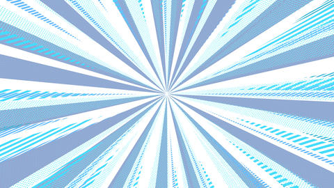 Cool Radial Line Animation CG動画