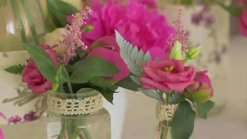 Wedding Flowers Closeup GIF